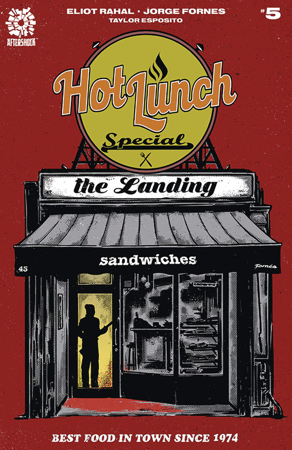 Hot Lunch Special #5  is out 2/20/2019.