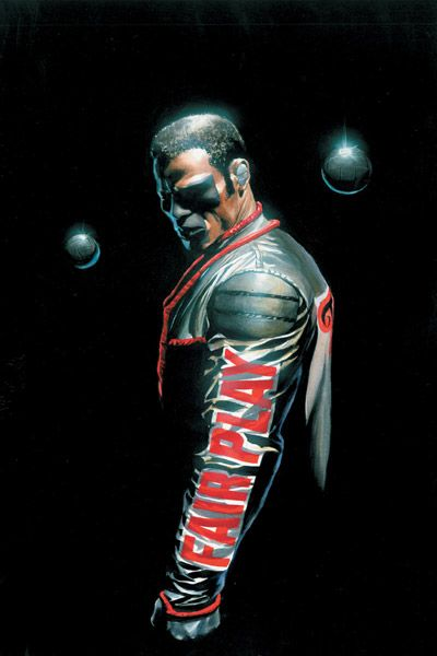 Mr. Terrific by Alex Ross.