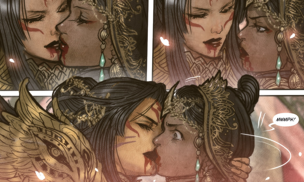 Once again, my favorite thing is  Monstress.