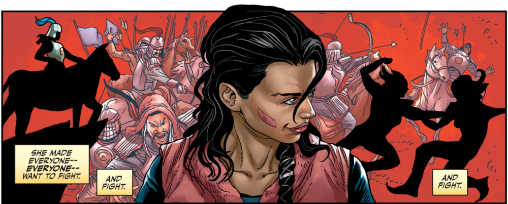 Clearly,  Valiant  has not forgotten about my tastes.