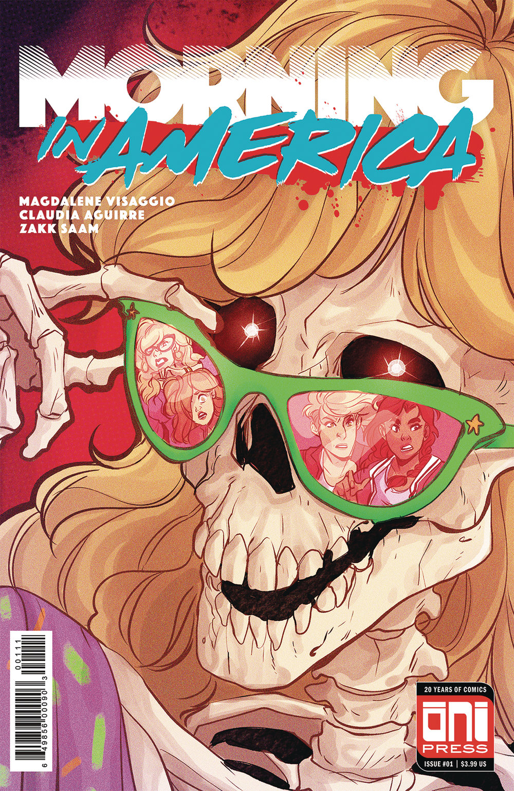 Morning in America #1  is out 3/6/2019.