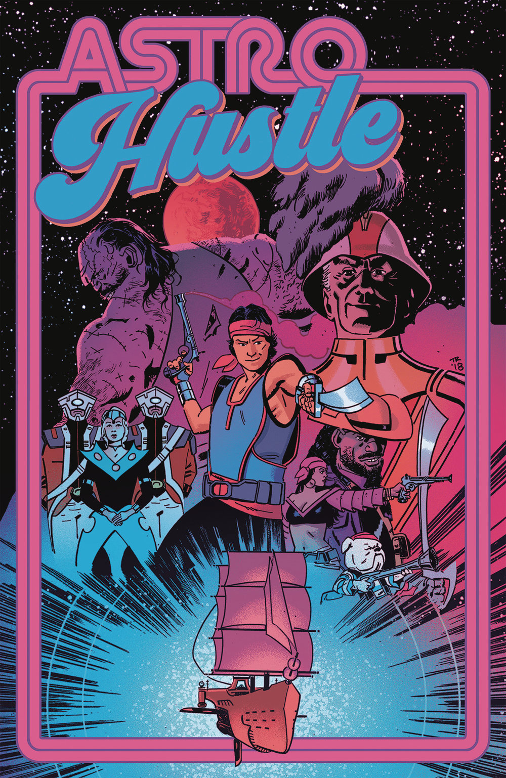Astro Hustle #1  is out 3/6/2019.