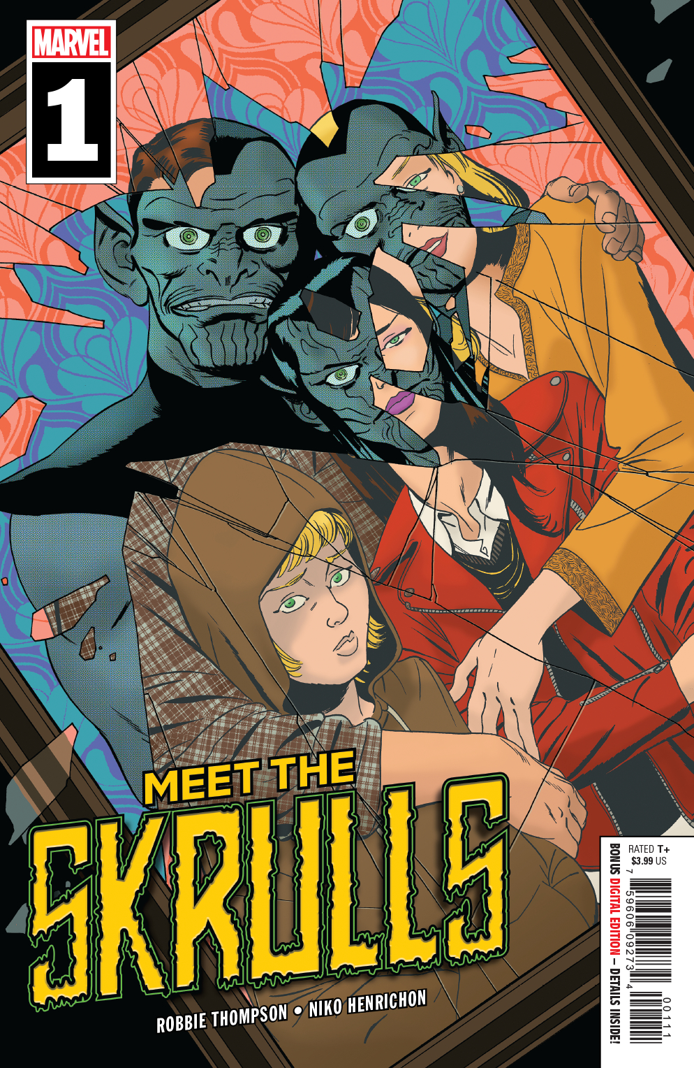 Meet the Skrulls #1  is out as of 3/6/2019.