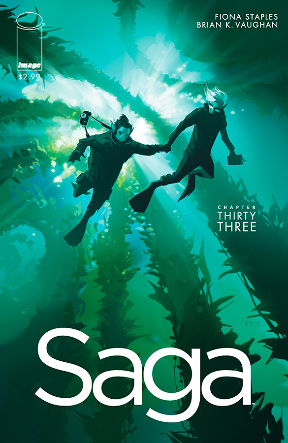 Saga #33  first debuted on Jan. 27, 2016.