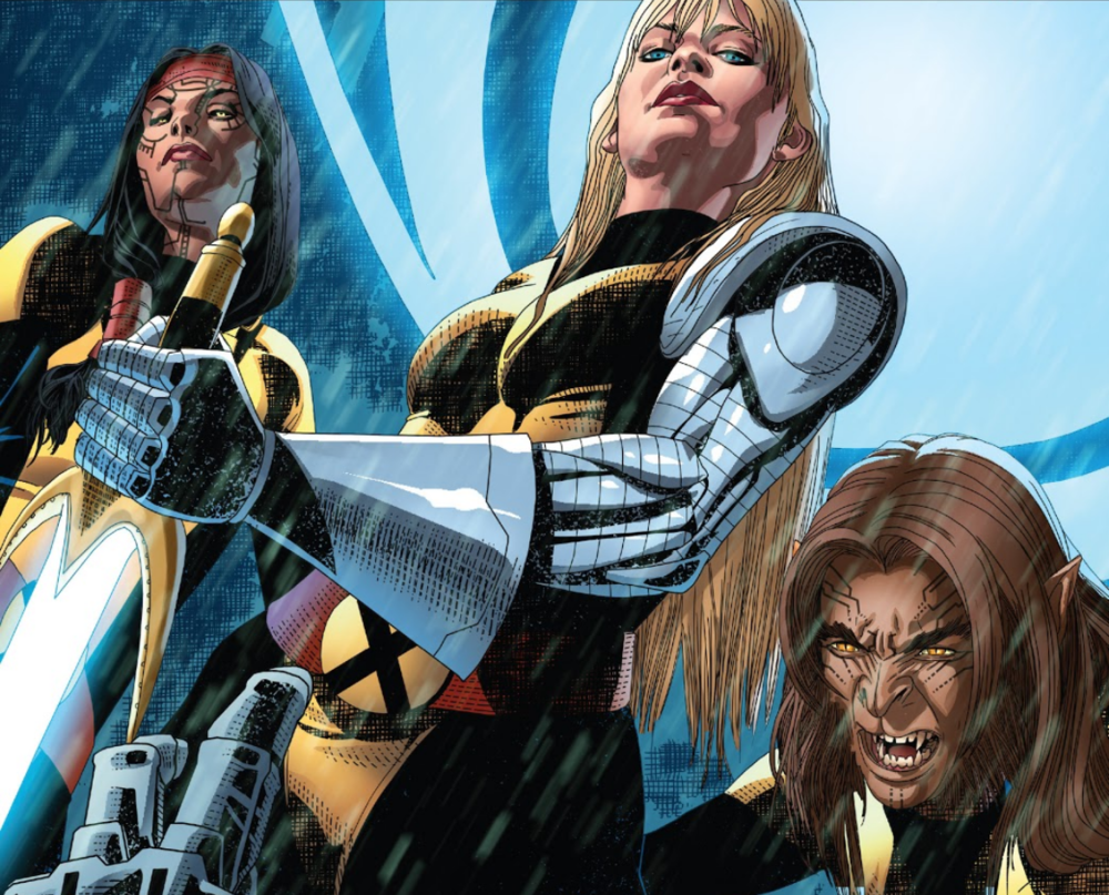 I'm sorry, was I supposed to write a caption here? Because all my brain can manage is NEW MUTANT LADIES.