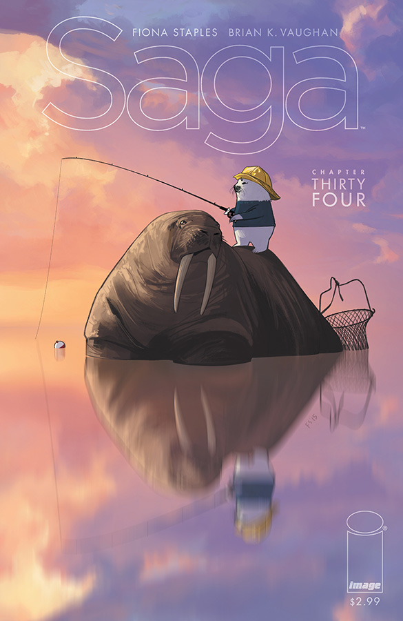 Saga #34  was originally released on 2/24/2016.