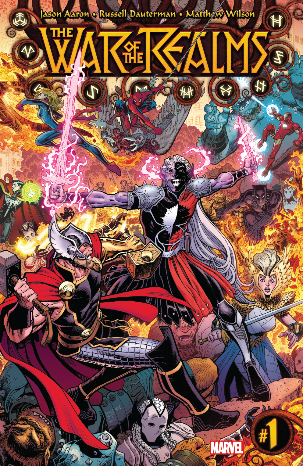 War of the Realms #1  is out 4/3/2019.