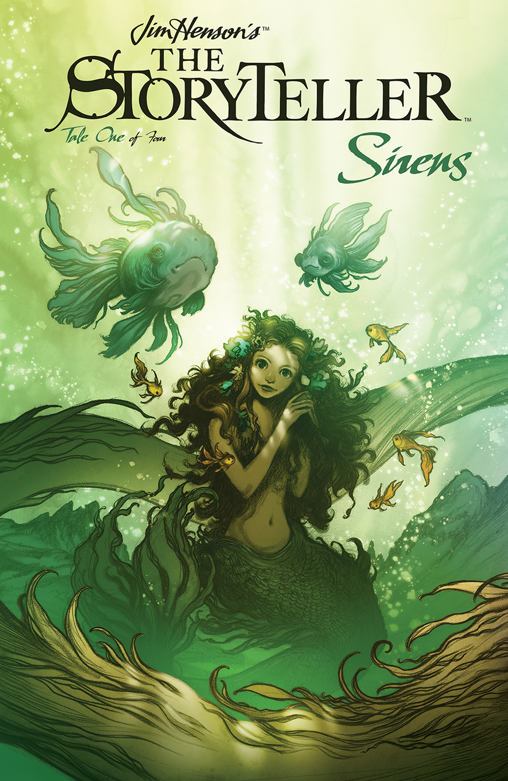 Jim Henson's The Storyteller: Sirens #1  is out now.