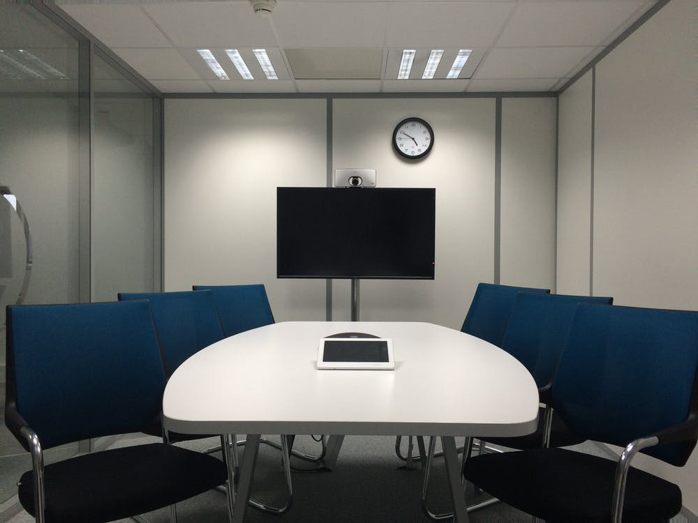 Conference room meeting area