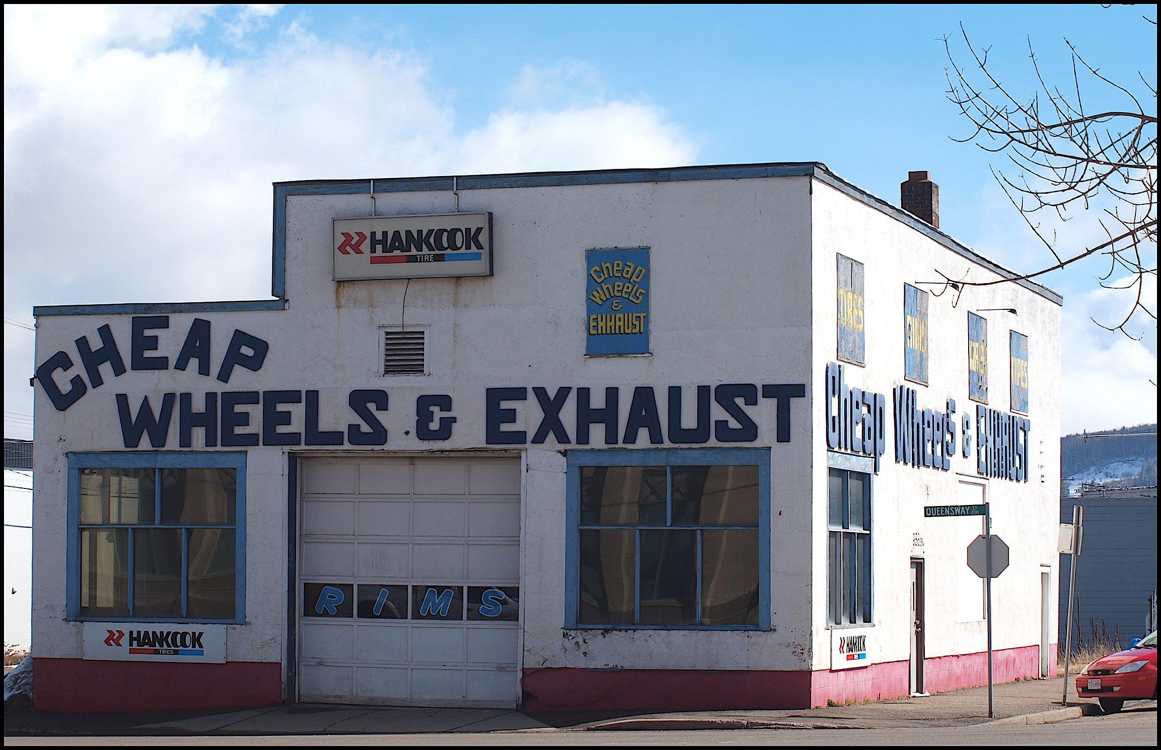 Witness a hot shot of PG's most enthralling Muffler shop right here @ CFUR!