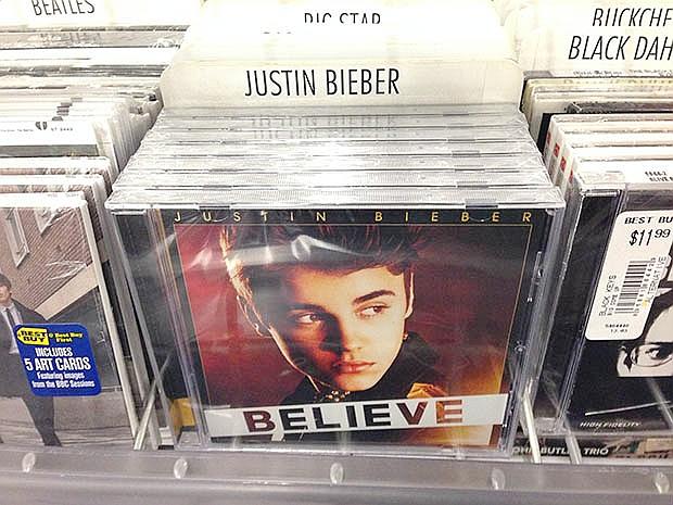 Justin Bieber CD Prank