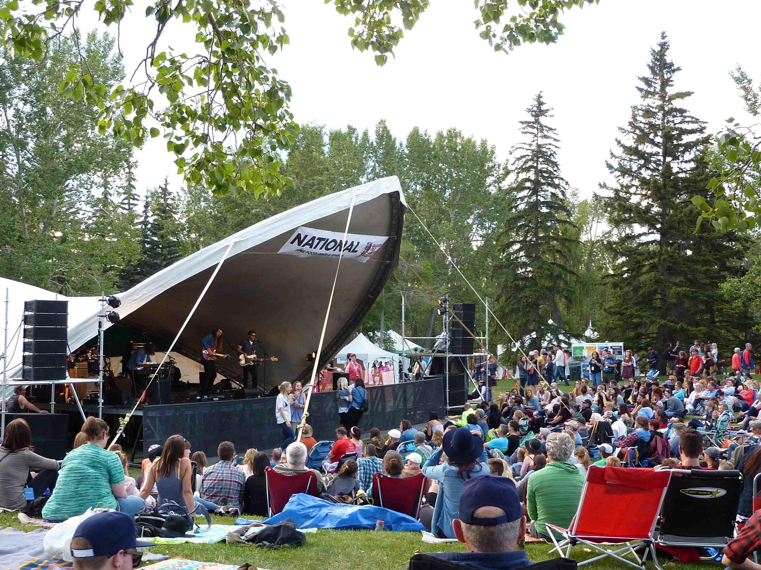 The Wooden Sky at Calgary Folk Fest