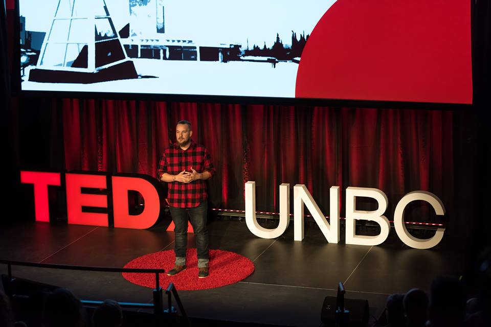 Image from TEDxUNBC facebook