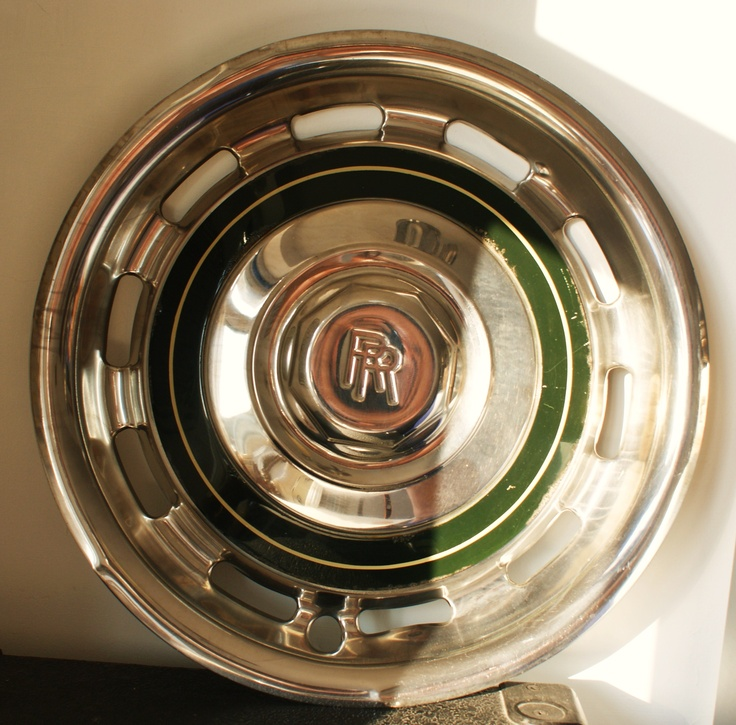 - King of Hubcaps. The Rolls Royce. Good enough to serve cheese from.