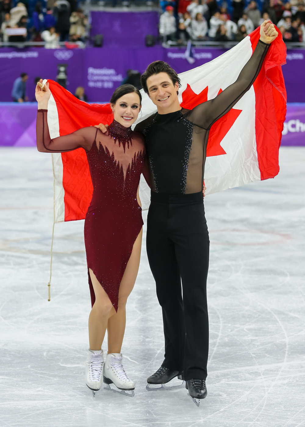 Virtue and Moir at the 2018 Winter Olympics
