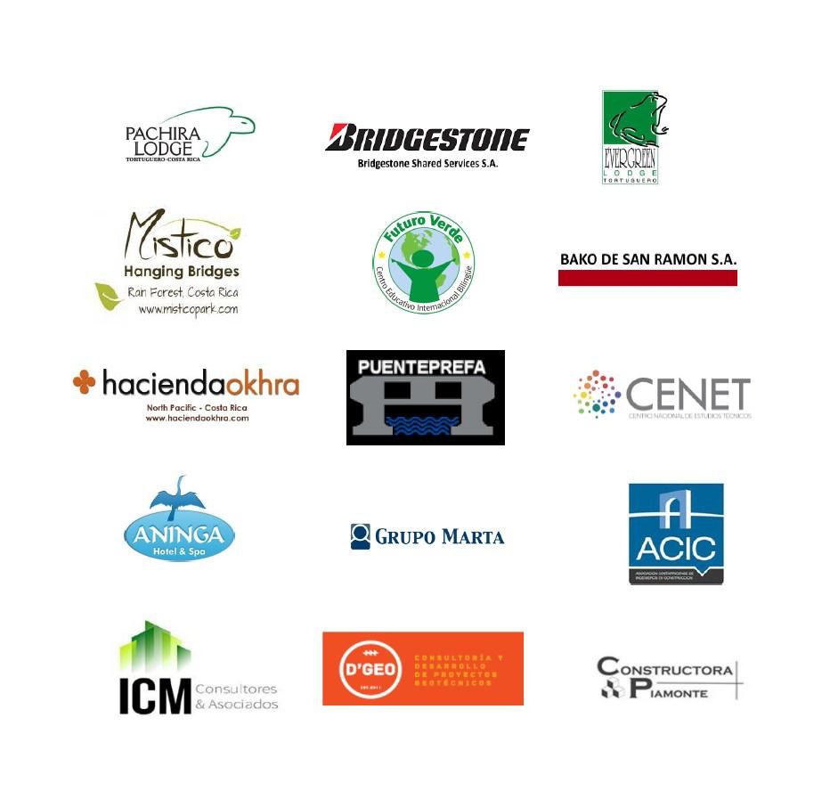 Orgullosamente prestamos nuestros servicios a empresas nacionales y regionales.