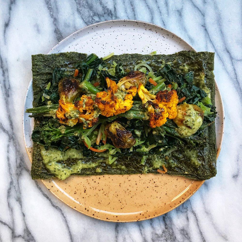 misfit wellness leftover roasted veggies