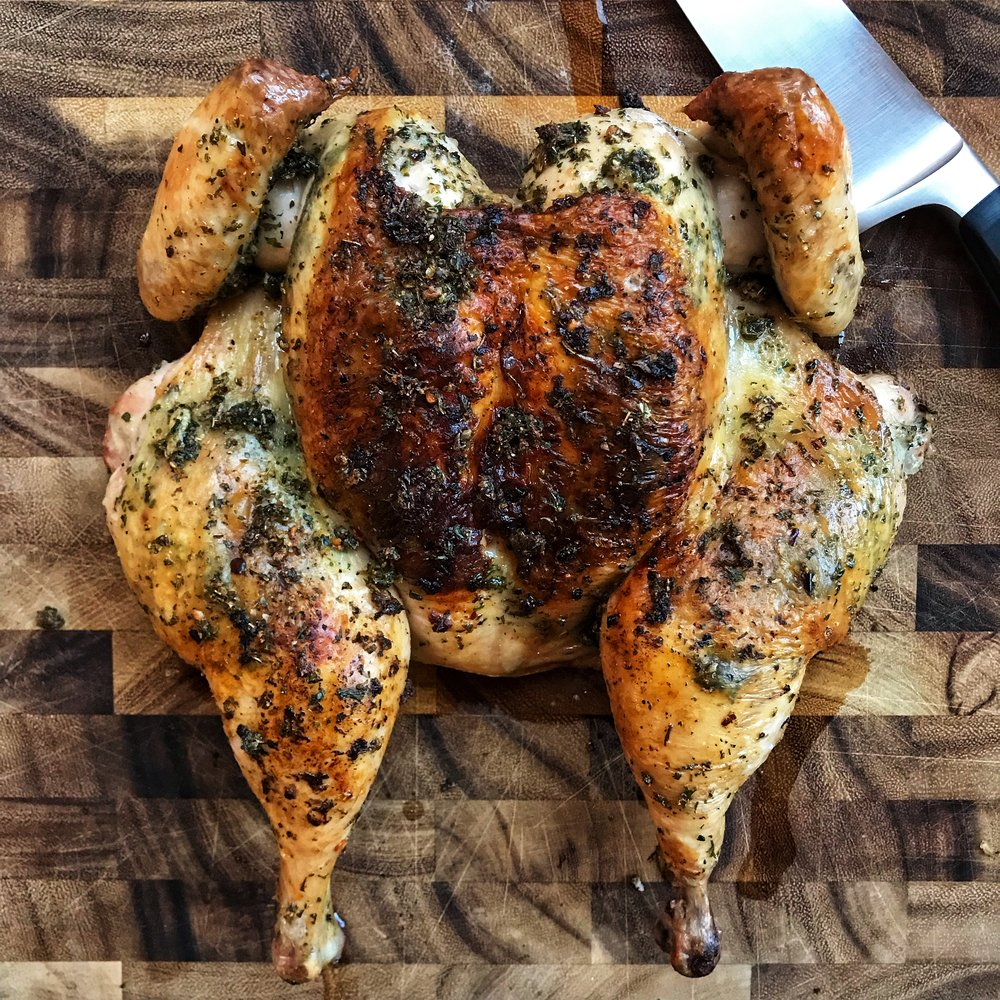 misfit wellness spatchcock roasted chicken