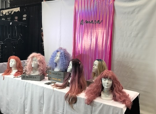 Beautiful Color Story at Amara Wigs