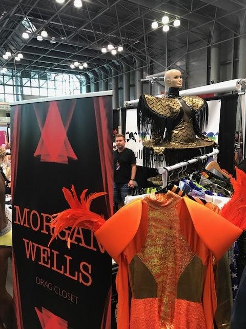 Morgan Wells Drag Closet & Their Gorgeous Pieces.