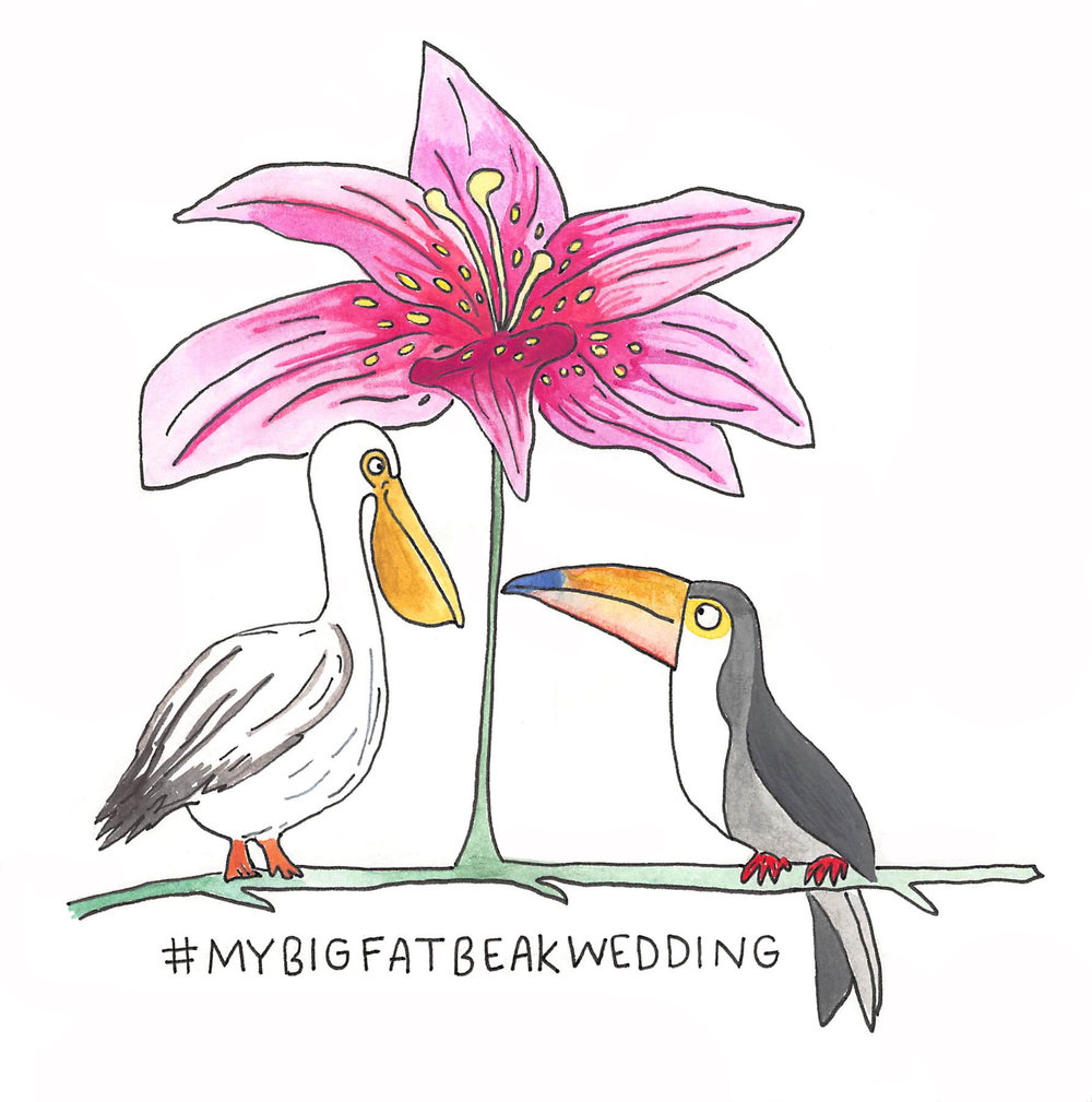 Wild Wedding Hashtags - The New Yorker