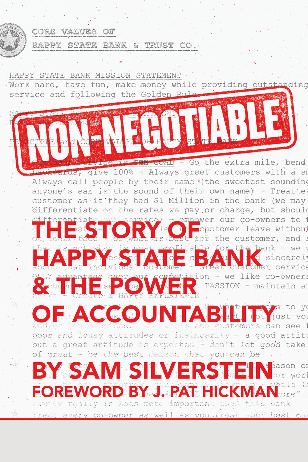 Non-Negotiable - By sam silverstein