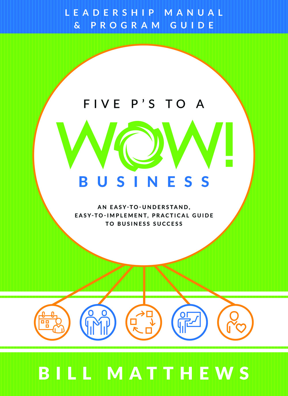 Five P's to a Wow Business Leadership Manual and Program Guide - Bill Matthews