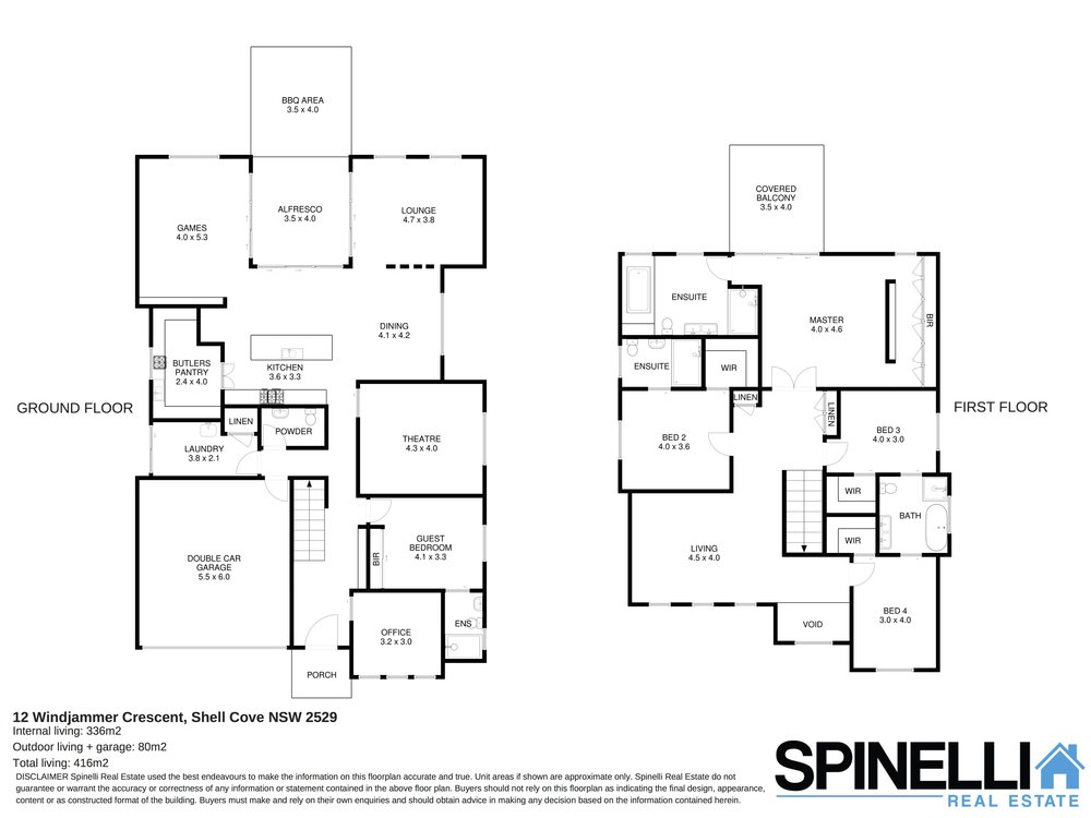 12 Windjammer Crescent, Shell Cove - Floor plan.jpg