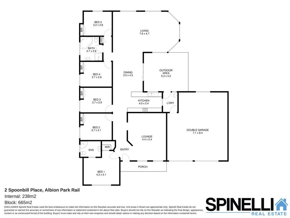 2 Spoonbill Place, Albion Park Rail - Floor plan.jpg