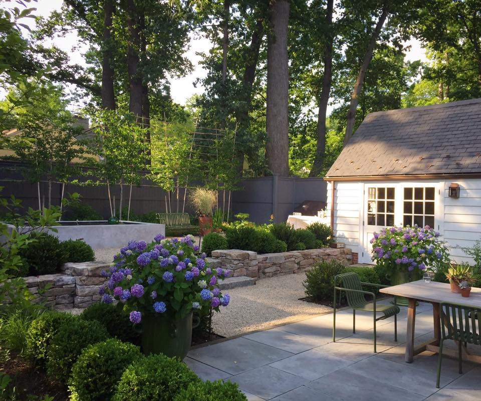 Northwest D.C. garden co-designed with Hilary Oat-Judge.