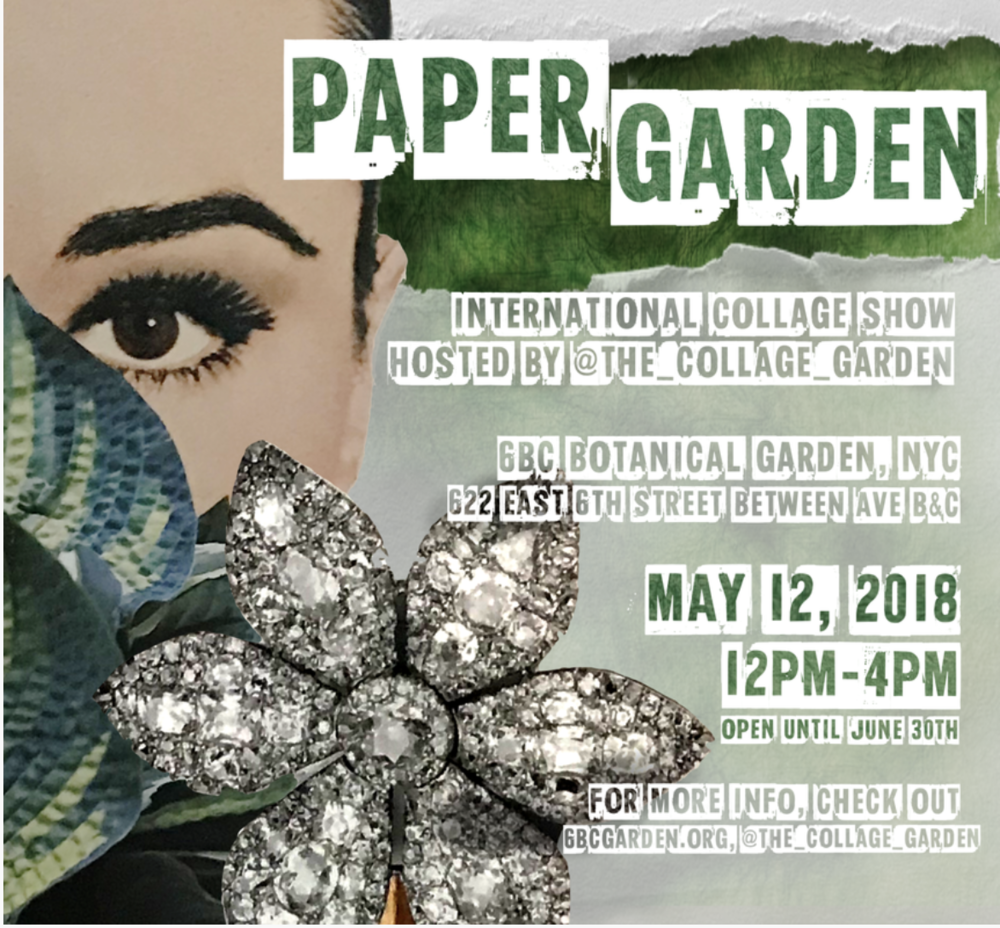 Collage Garden Flyer