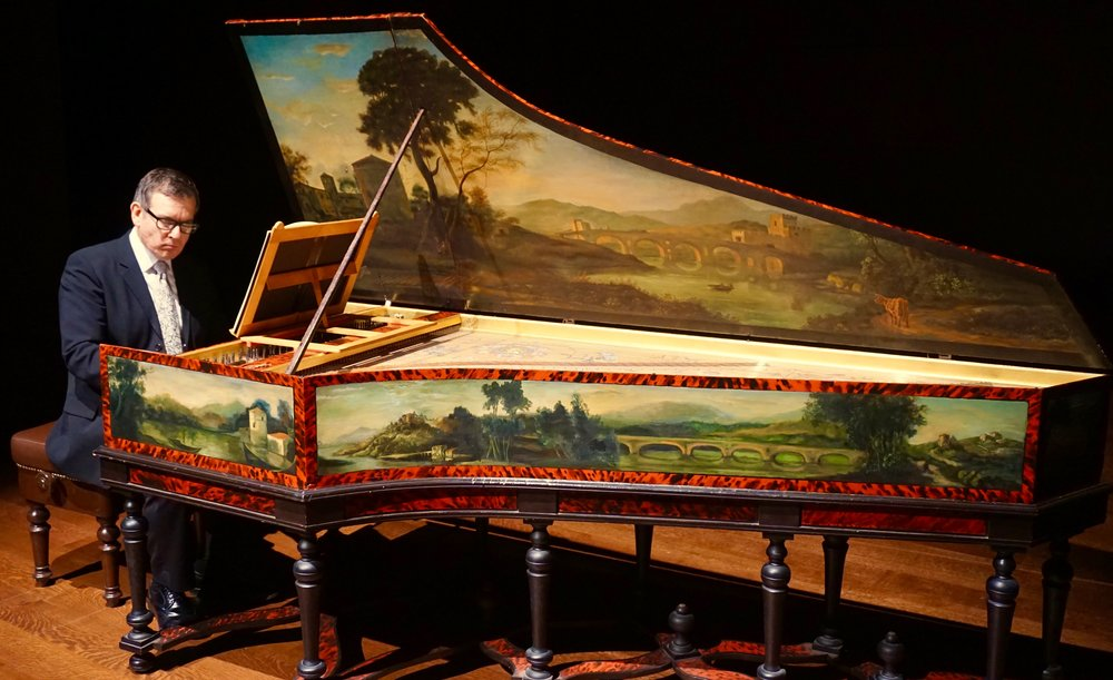 Bach's Goldberg Variations, presented by Camerata Pacifica, at the Huntington Library, Pasadena, CA