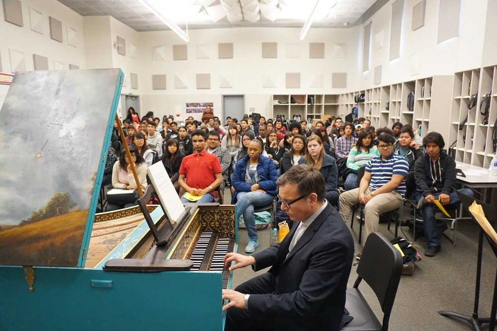 Camerata Pacifica at Cortines High School, Los Angeles