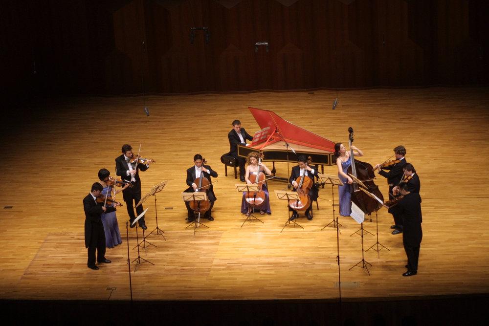 International Sejong Soloists at National Arts Center, Seoul, South Korea