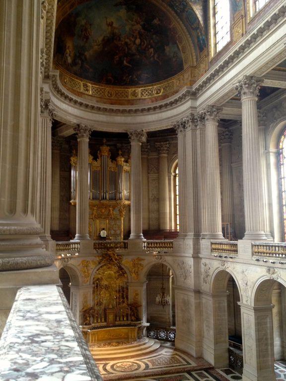 La Chapelle royale,Château de Versailles, France.