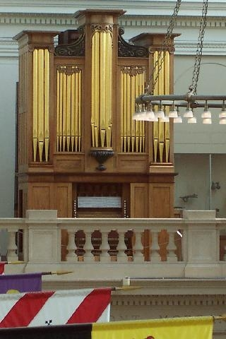 Thomas Appleton organ, 1830, Metropolitan Museum of Art, New York