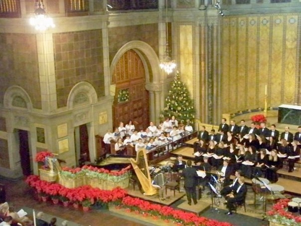 The Boy & Girl Choristers singing Britten at the 2008 Joyous Christmas Concert