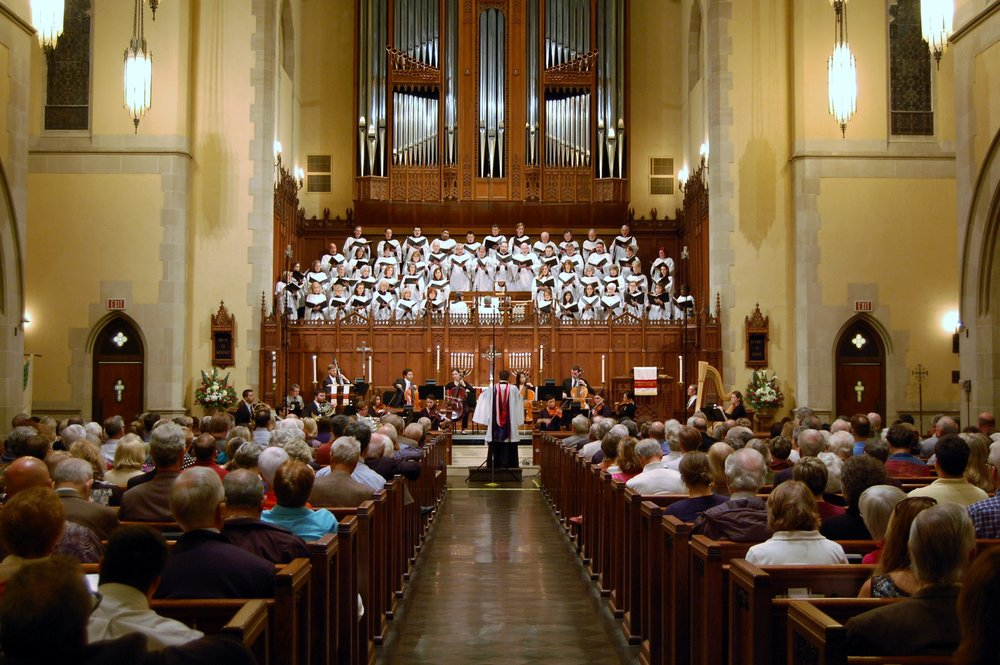 Fauré Requiem, St. Paul's U.M. Church, Houston