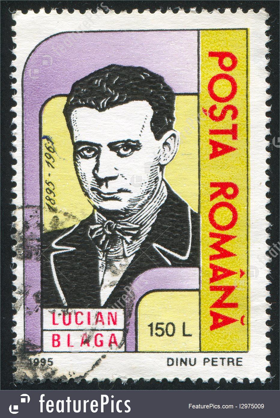 Romanian postage Stamp