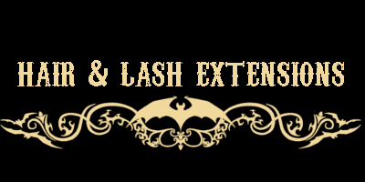 Lash Extensions- classic or volume set $150   —     Lash Re-fill- $50  Hair Extensions- Installations starting at $160. Email for a consultation to receive brochure on extended price detailing.