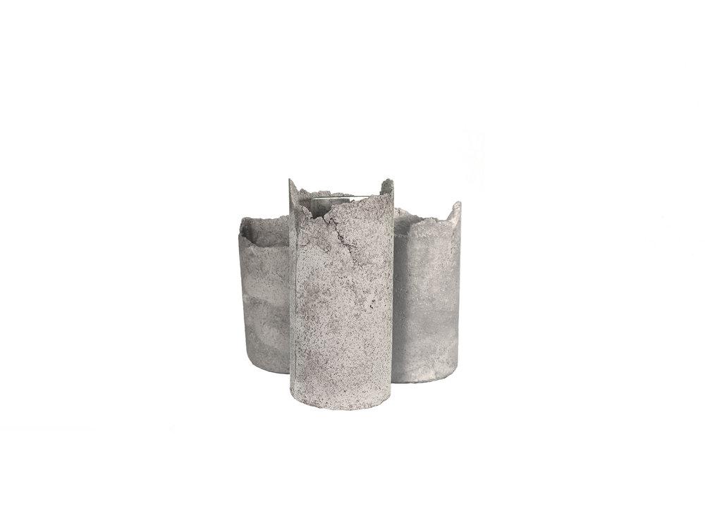 FULO concrete vase - unique
