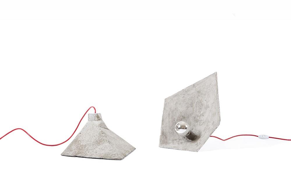 SHADOK concrete table lamp