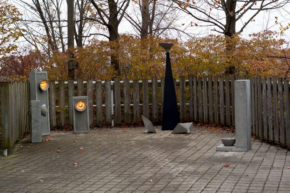 LALAYA Design - SHADOK outdoor installation