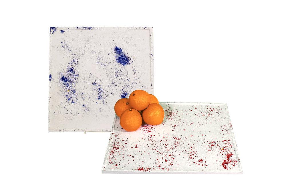 KAÏ-concrete-platter-tray-colourful-blue-red