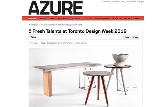 AZURE Magazine - Top 5 emerging talents