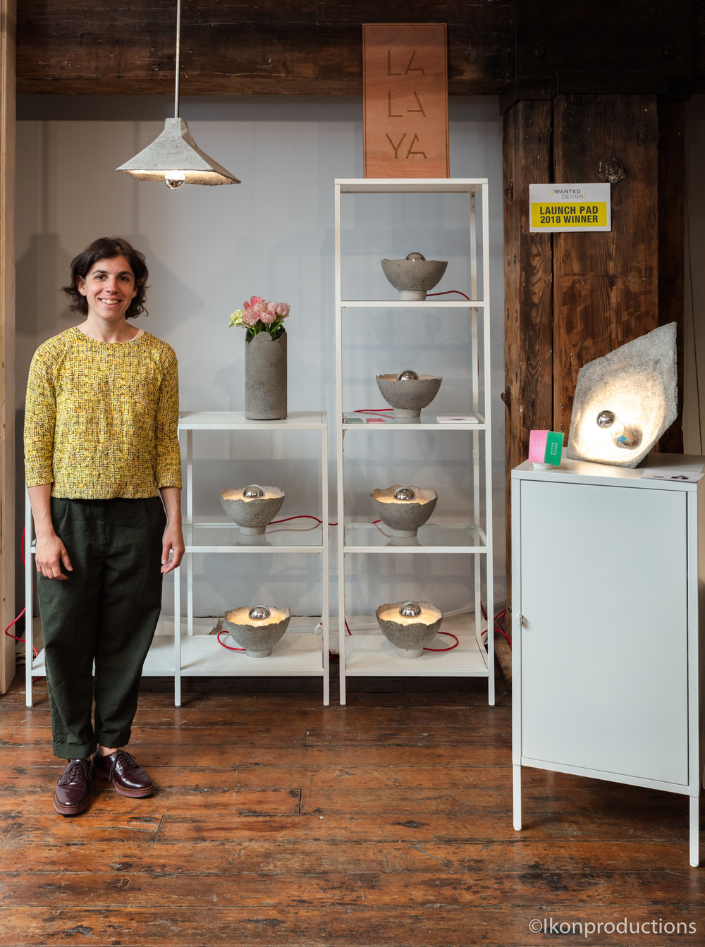 LALAYA Design wins Best of LaunchPad at WantedDesign 2018