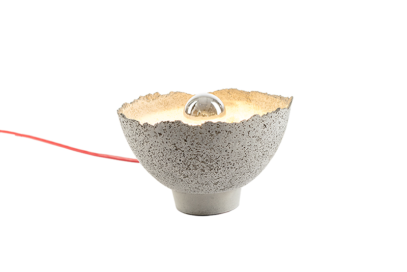 AYÊ table lamp - concrete lamp