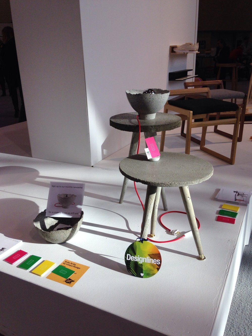 LALAYA Design installation at IDS2018