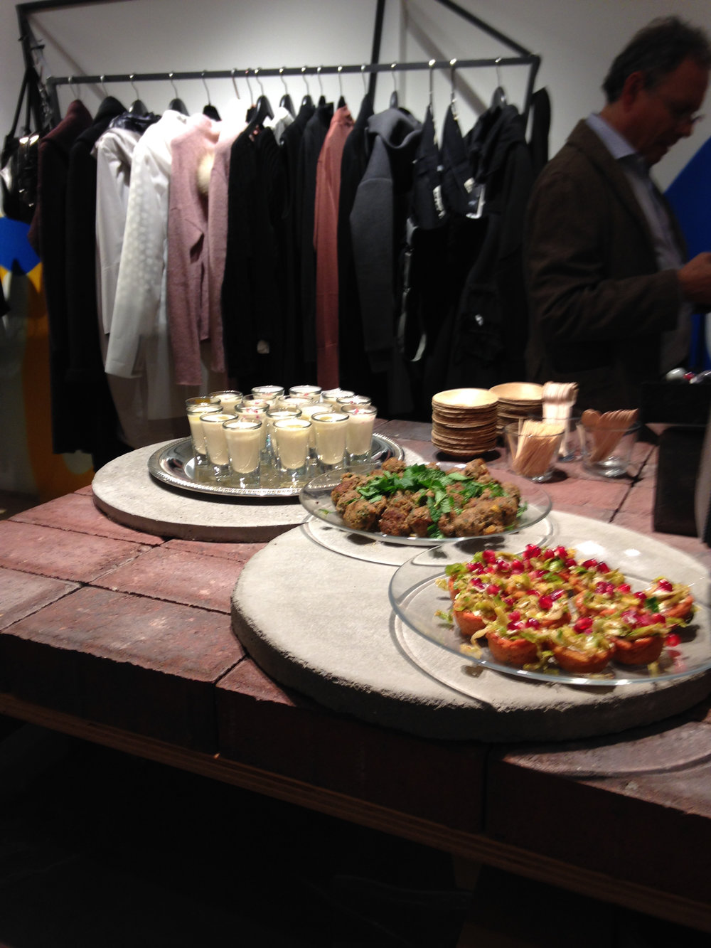 Catering for LALAYA launch party