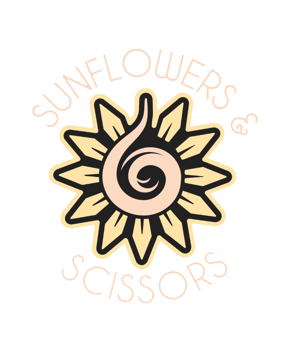 Sunflowers & Scissors